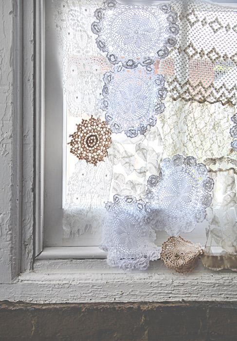 toalinha croche reutilizar cortinas