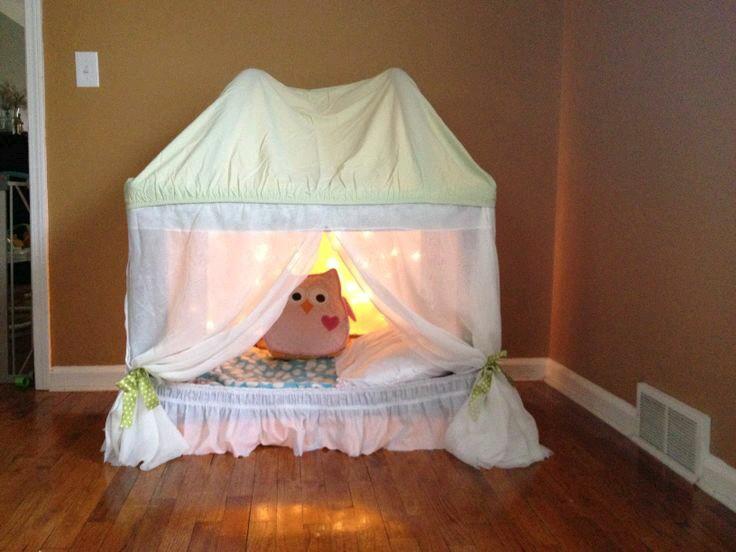 transformar berço em tenda