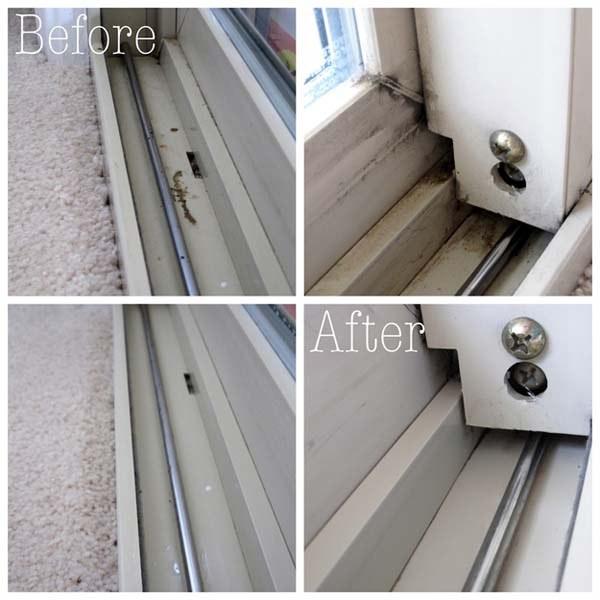truque para limpar janelas