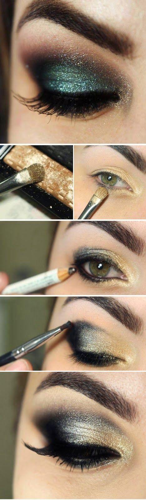 tutorial maquiagem festa