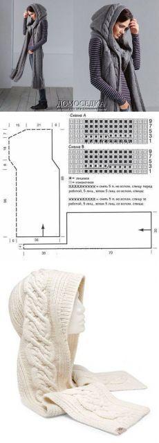 tutorial poncho crochet 7