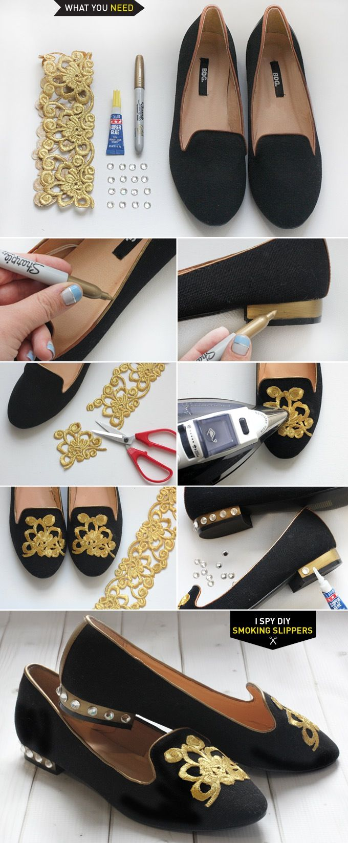 tutorial renovar sapatos