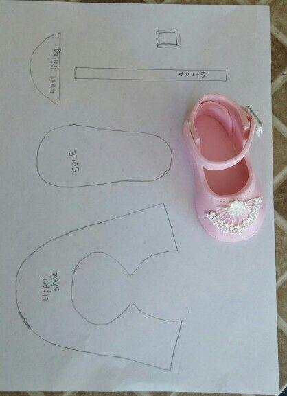 tutorial sapatinho EVA 1