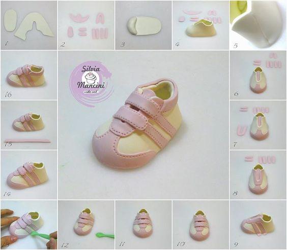 tutorial sapatinho EVA 2