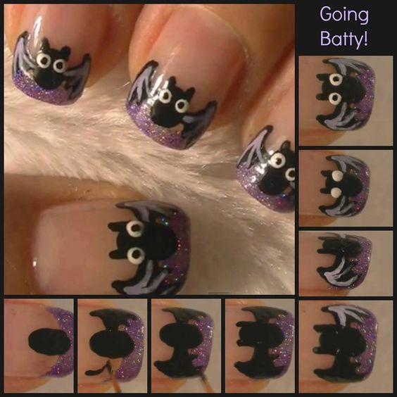 tutorial-unhas-halloween-morcego