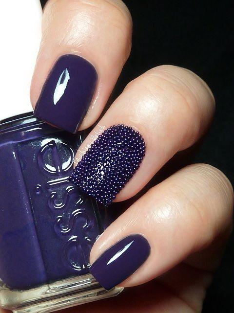 unhas decoradas caviar 1