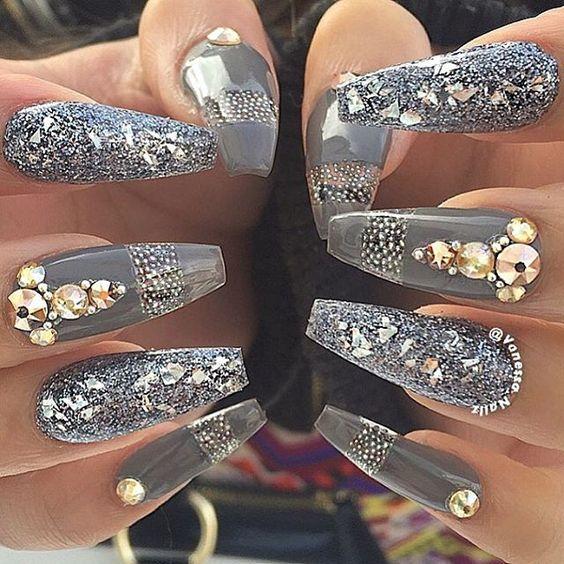 unhas decoradas caviar 2