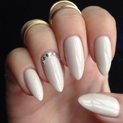 unhas decoradas tumblr branco stilleto