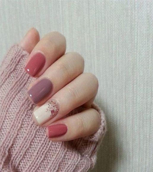 unhas decoradas tumblr simples delicadas