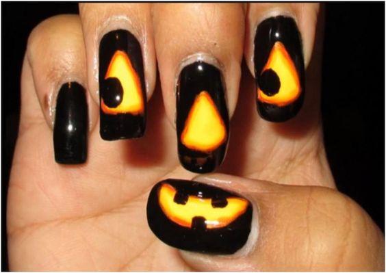 unhas halloween 3