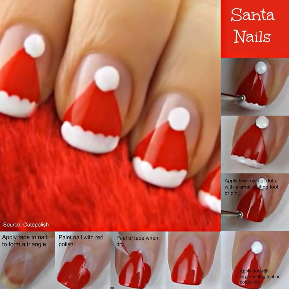 Christmas Nail Art Tutorial Gingerbread Galore: Unhas De Natal Passo A Passo (Confira O Video