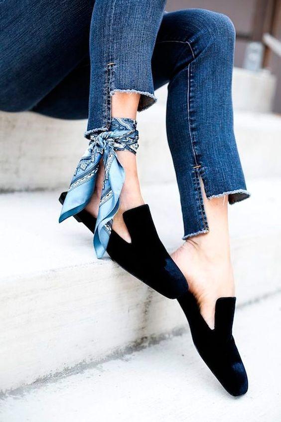 usar lenco tornozelo inspiracao