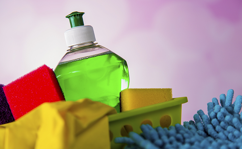 utilidades do detergente da loiça