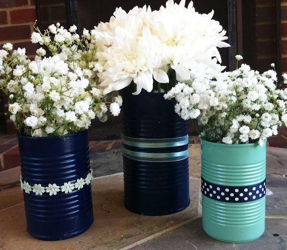 vasos flores materiais reciclados 5
