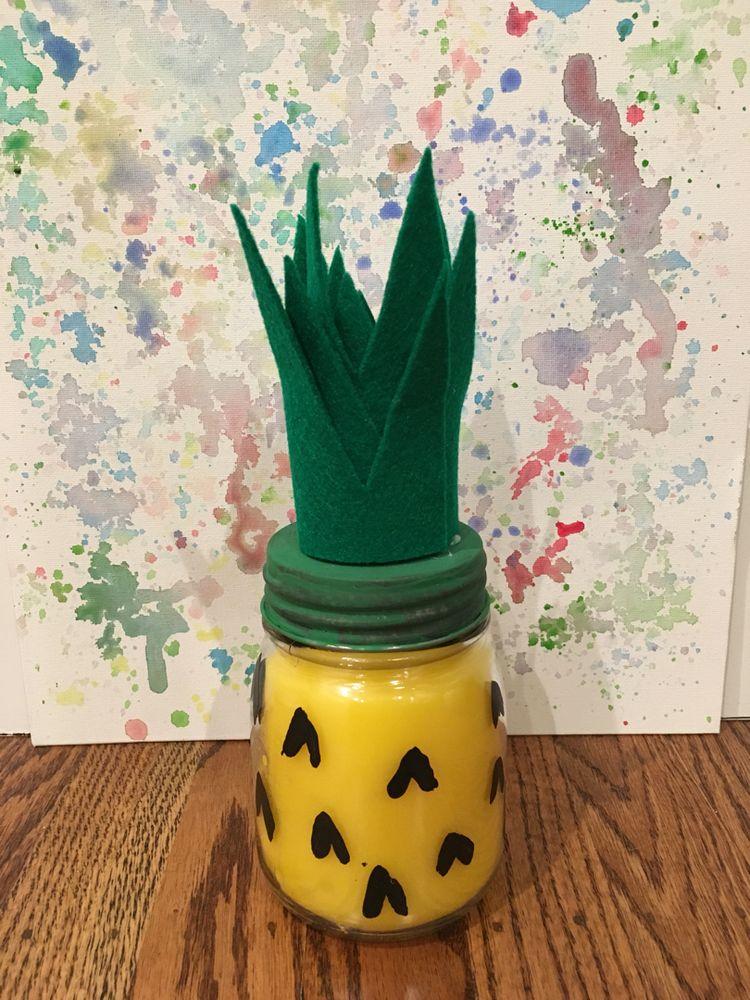 vela perfumada ananas