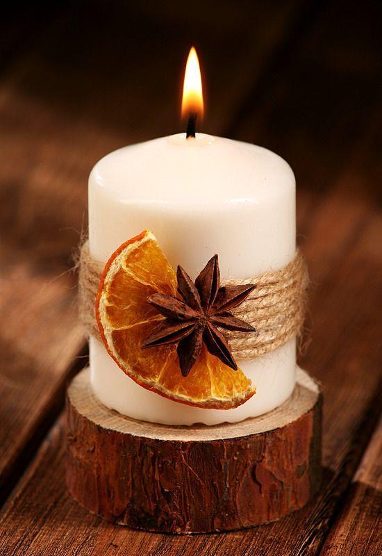 vela perfumada fruta