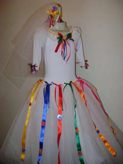 vestido caipira para festa junina