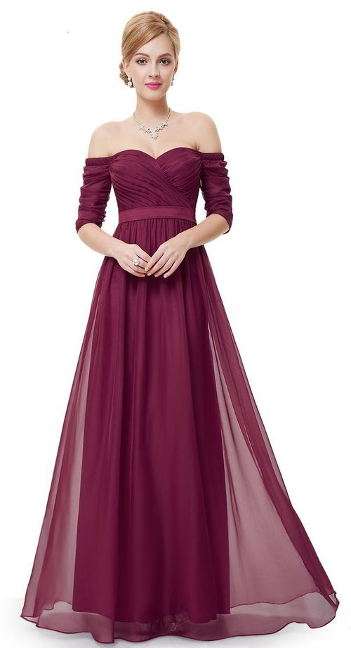 vestido de cerimonia comprido