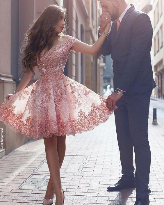 vestido formatura curto