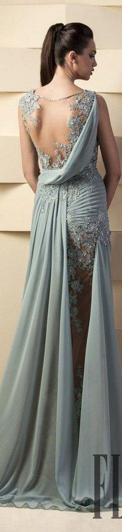 vestido longo cerimonia