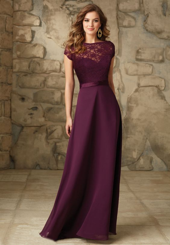 vestido longo festa vinho