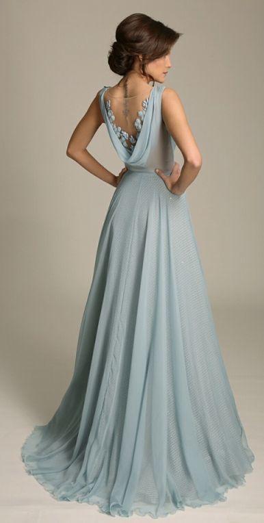 vestido madrinha casamento azul 1