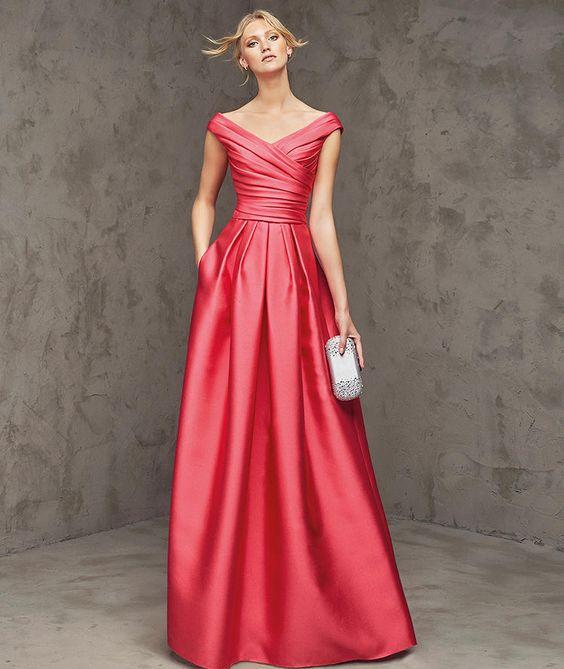 vestido madrinha casamento rosa