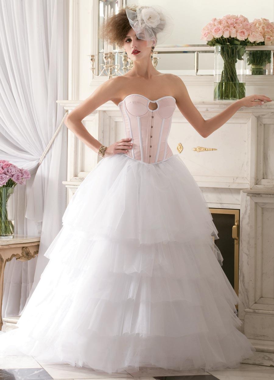 vestido noiva espartilho corpete 4