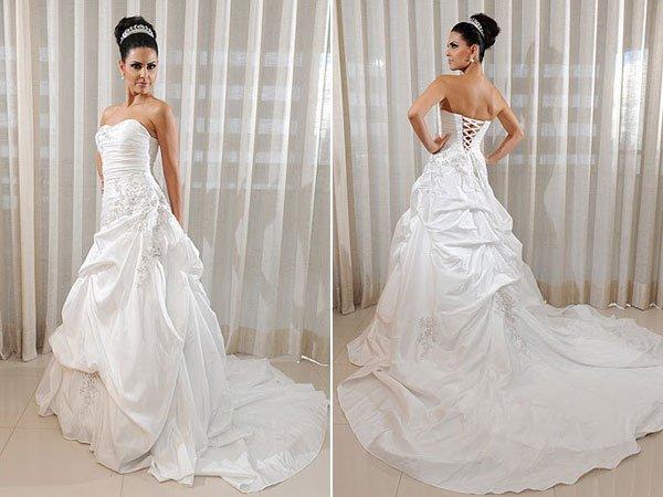 vestido noiva espartilho corpete 7
