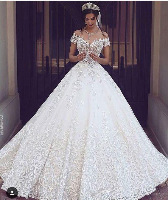 Psiu Noiva - Os Mais Belos Vestidos de Noiva Estilo Princesa