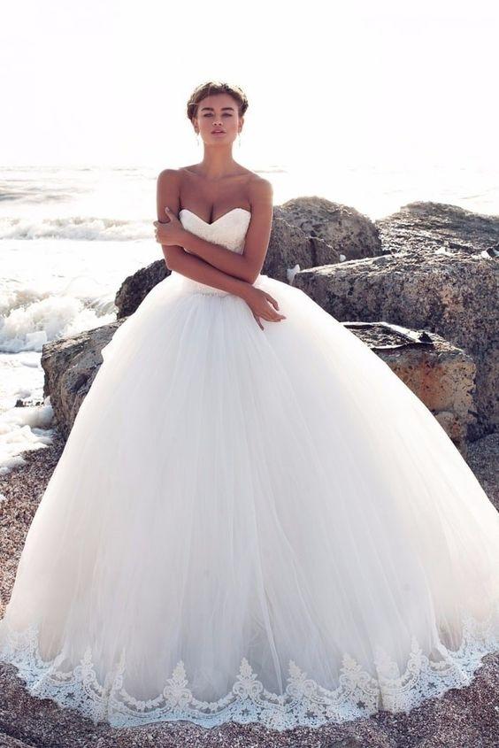 vestido noiva estilo princesa