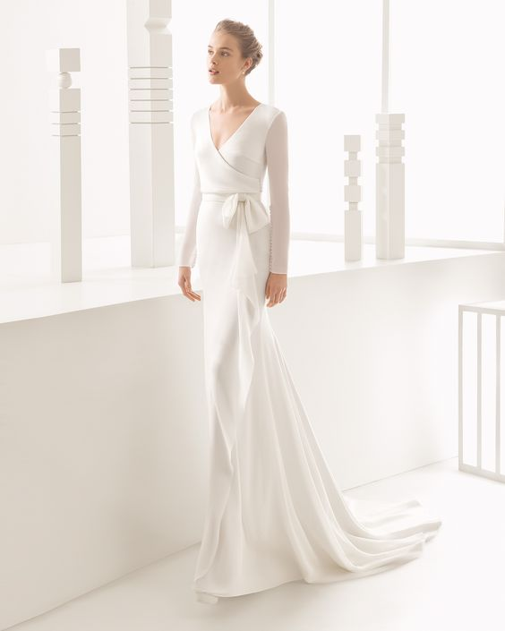vestido noiva inverno 15