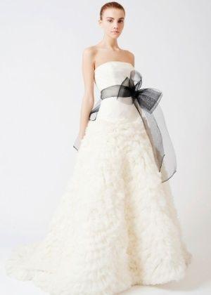 vestido noiva preto branco 5