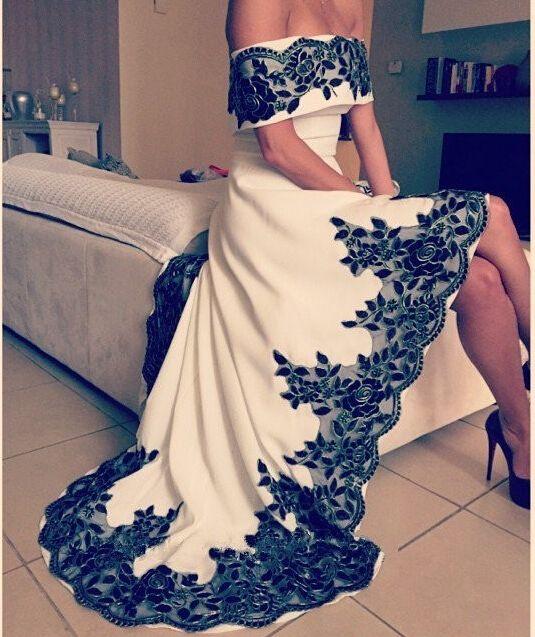 vestido noiva preto branco 6
