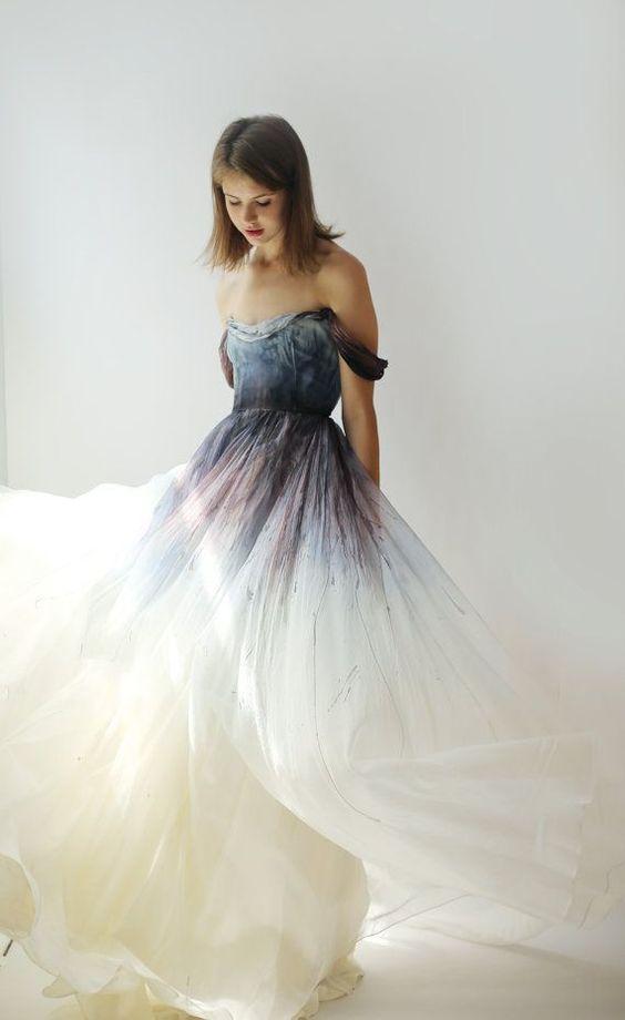 vestido noiva preto branco 8