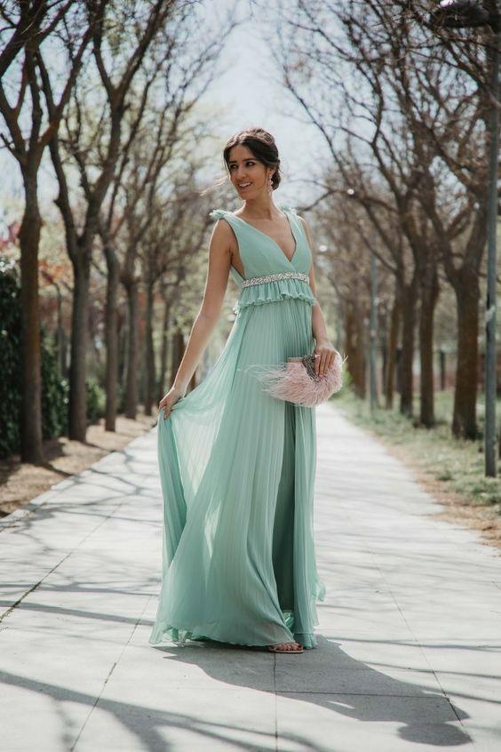 vestido verde festa 3
