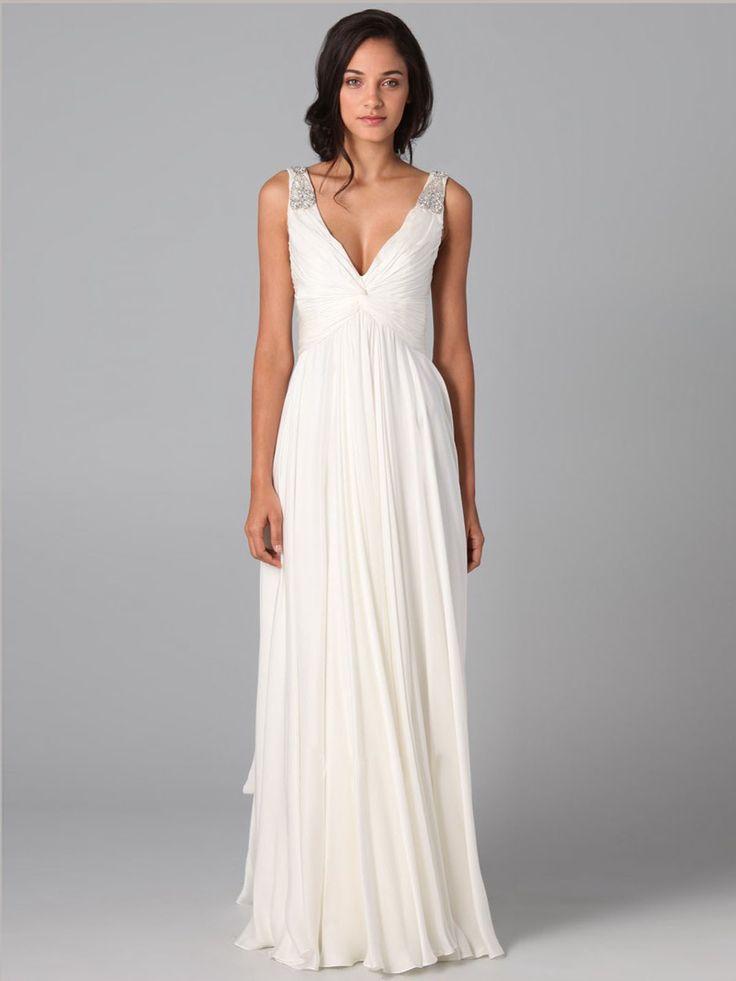 vestidos basicos festa branco
