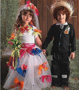 vestidos festa juninas criança