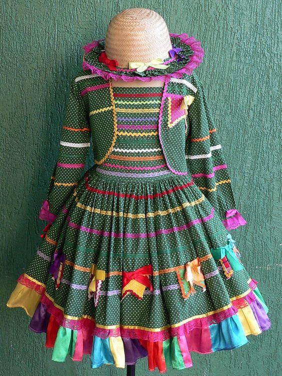 vestidos festa juninas