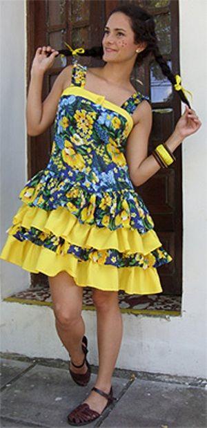 vestidos festas juninas