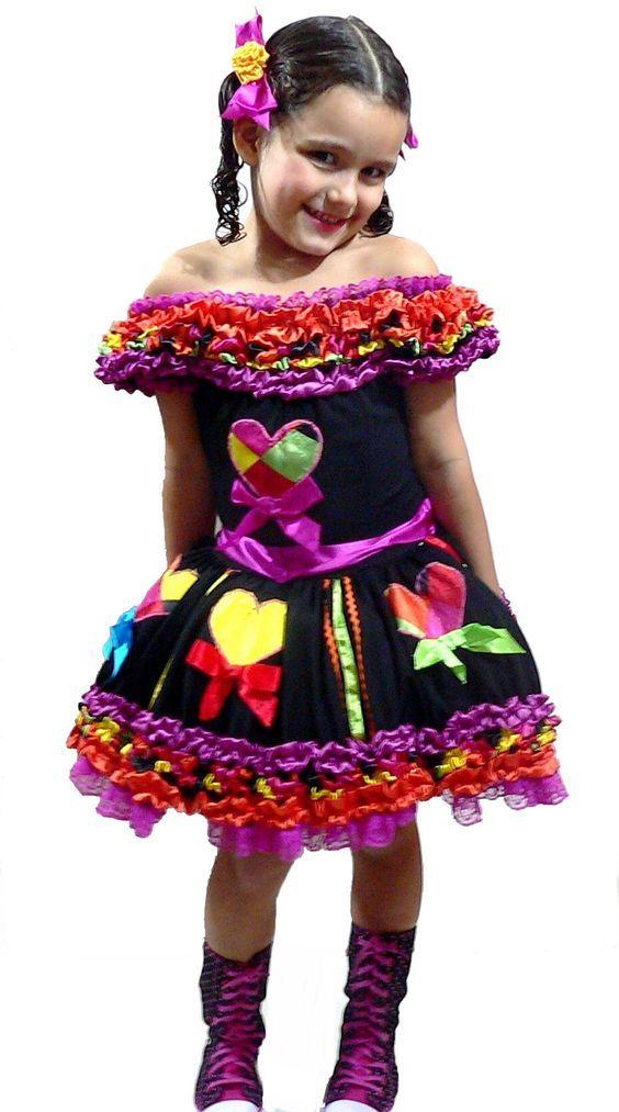 vestidos menina festa junina 3