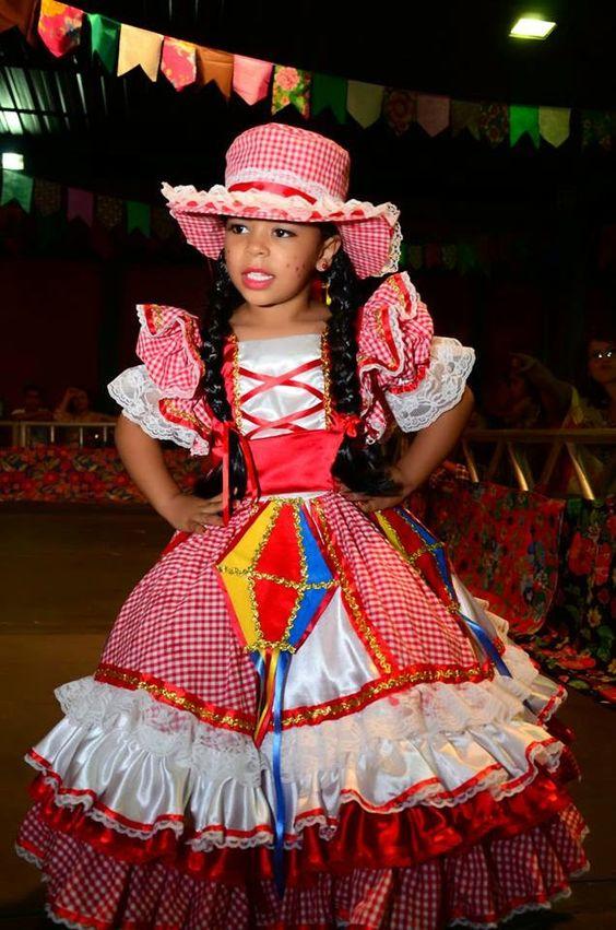 vestidos menina festa junina 4