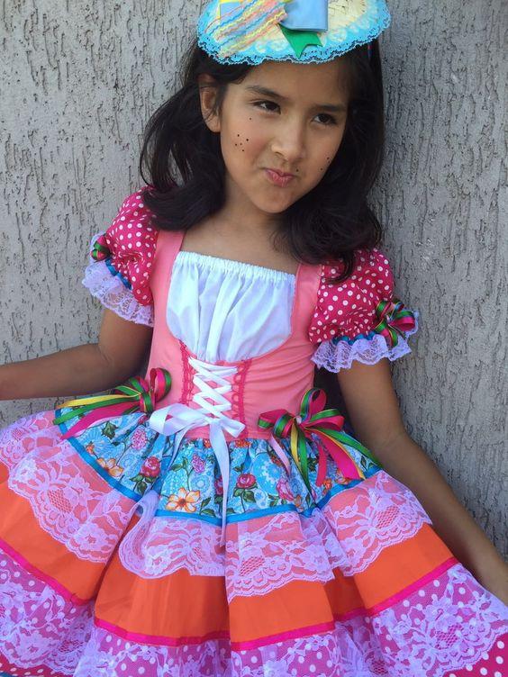 vestidos menina festa junina 7