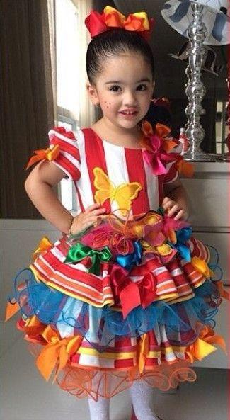 vestidos menina festa junina 8