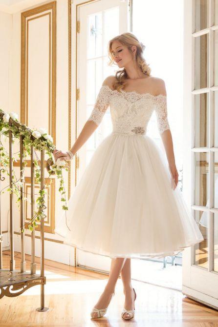 vestidos noiva curtos 1