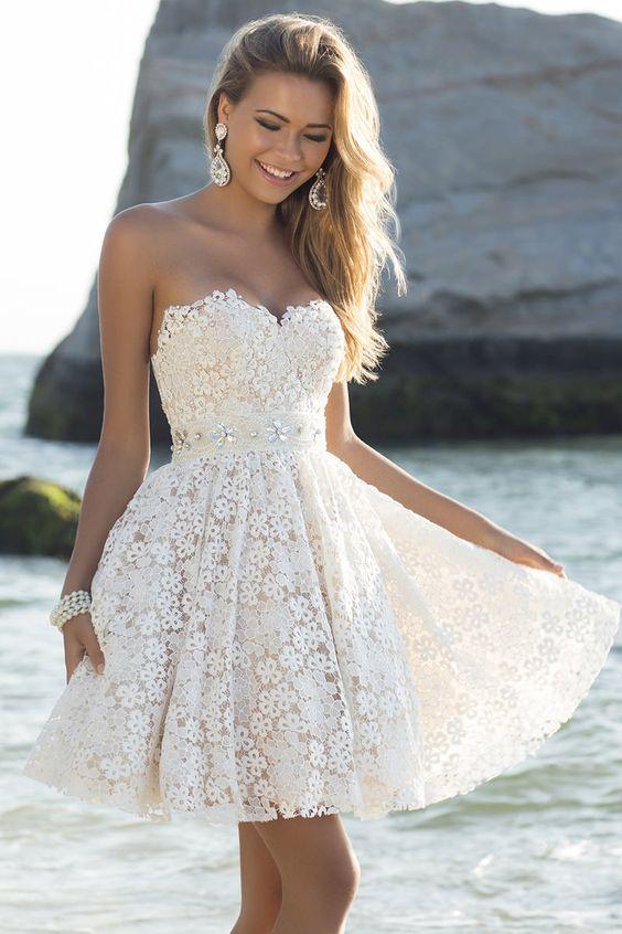 vestidos noiva curtos 9