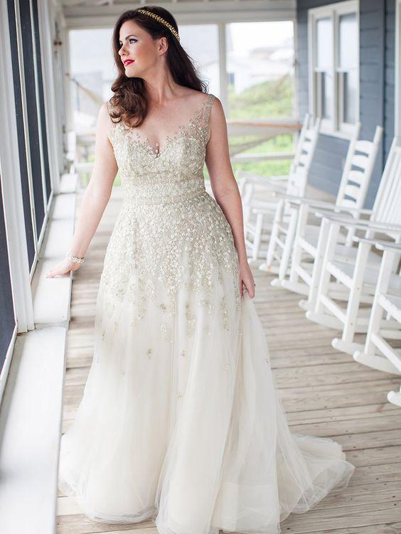 vestidos noiva gordinhas