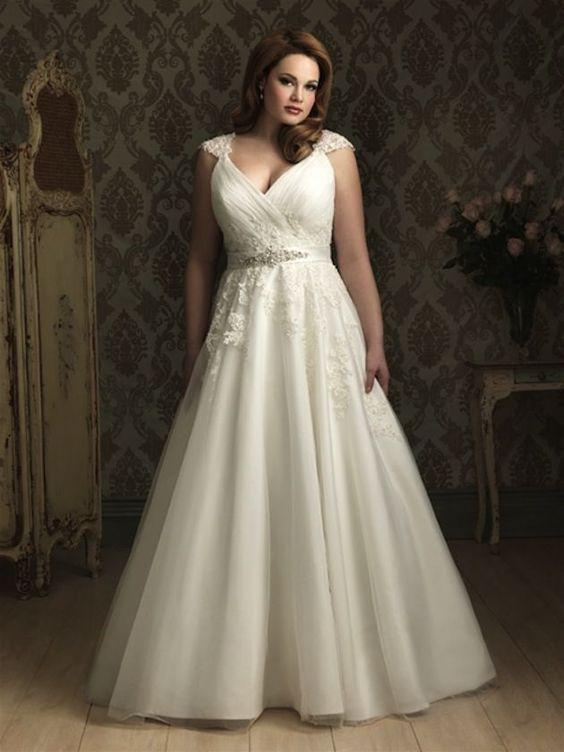 vestidos noiva plus size 1