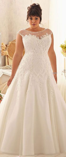 vestidos noiva plus size 2
