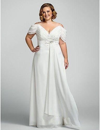 vestidos noiva plus size manguinha